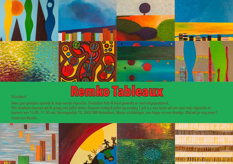 Remko Mast uitnodiging expositie