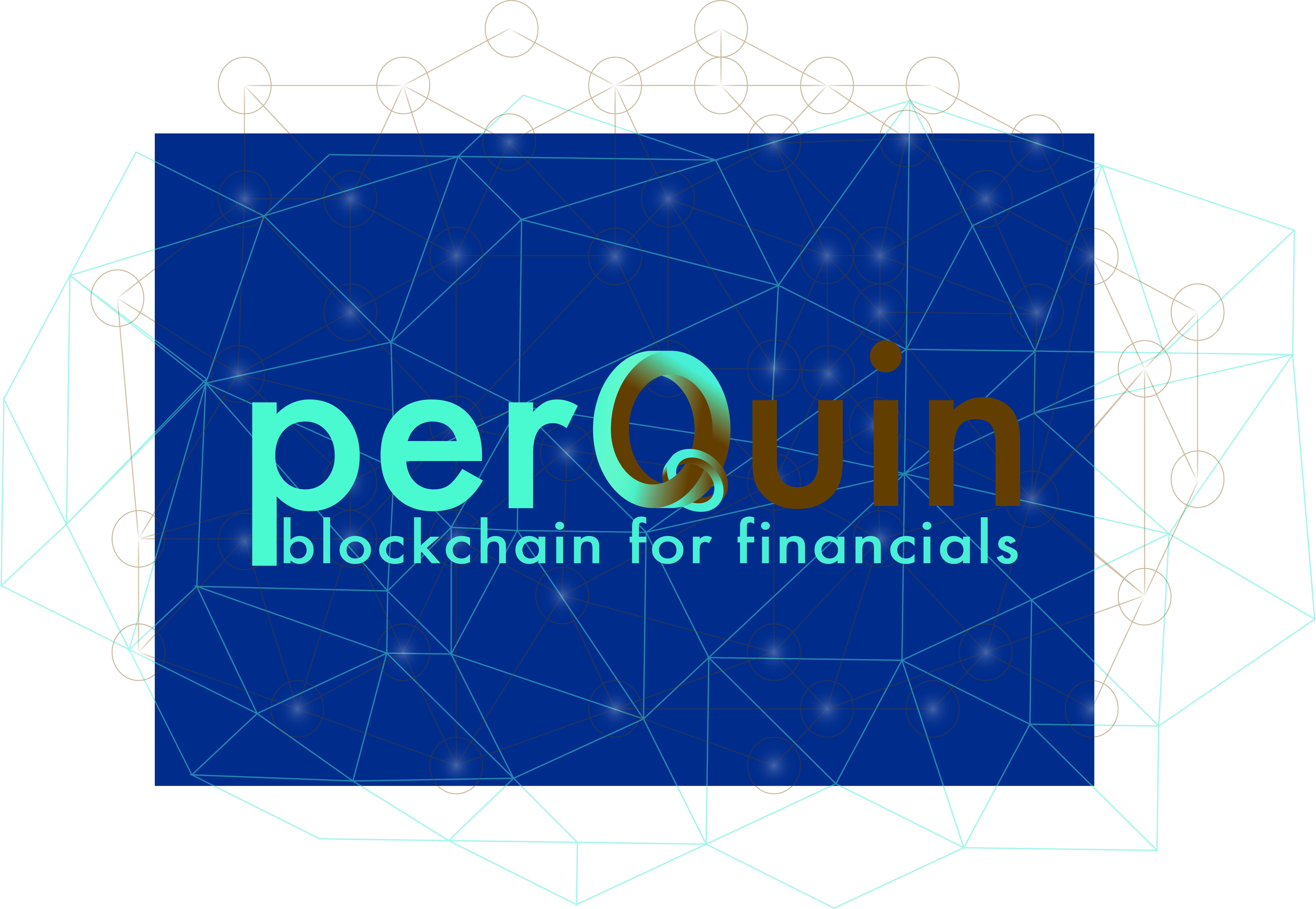 voorblad blauw met blockchain for financials