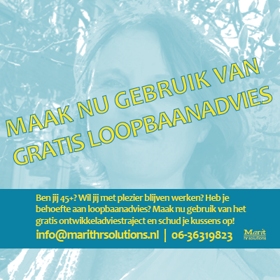 Marit HR solutions loopbaanadvies 45+