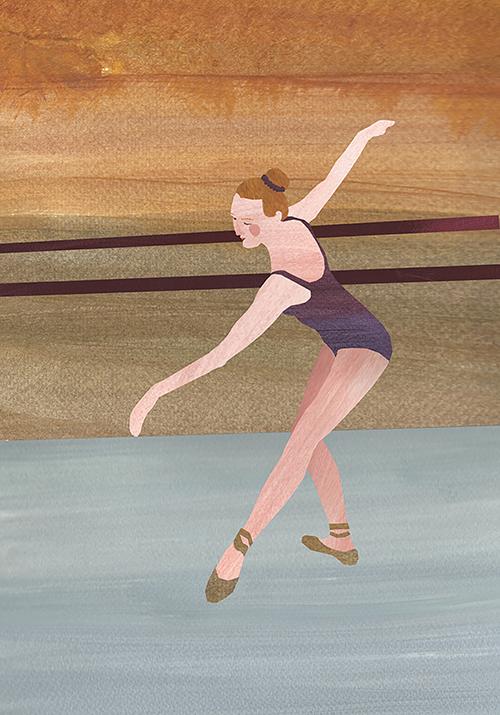 Ballerina klein
